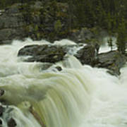 Rauma Waterfall Panorama Poster