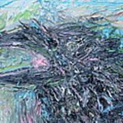 Raven - Oil Portrait Poster