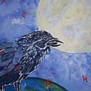 Raven Speak Poster