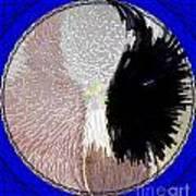 Raven-wold Mandala Yantra Poster