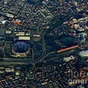 Ravens Stadium And Camden Yards Poster