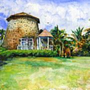 Rawlin's Plantation Inn St. Kitts Poster