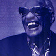 Ray Charles Robinson and Quote Poster