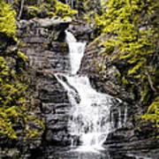 Raymondskill Falls In Milford Pa Poster