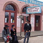 Re-enactors Bird Cage Theater Rendezvous Of The Gunfighters Tombstone Arizona 2004            Poster