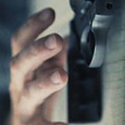 Reaching For A Gun Poster by Edward Fielding