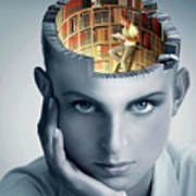 Reading And Memory Poster