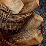 Real Bread Poster by Odd Jeppesen