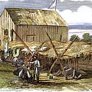 Rebel Hospital, 1862 Poster by Granger