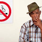 Rebel Smoker Poster