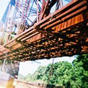 Recesky - Whitford Railroad Bridge Poster