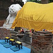 Reclining Buddha Monument Poster