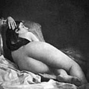 Reclining Nude, C1850 Poster