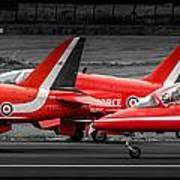 Red Arrows Threesome Take-off Poster