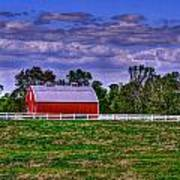 Red Barns Poster