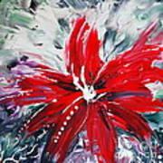 Red Beauty Poster by Teresa Wegrzyn