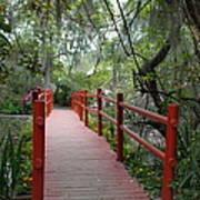 Red Bridge Poster