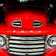 Red Cheeks Ford Poster