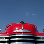 Red Chevrolet 3100 1953 Pickup  Poster