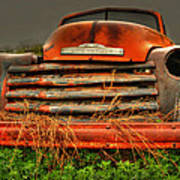 Red Chevy Poster