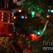 Red Christmas Bell Poster