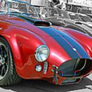 Red Cobra Poster