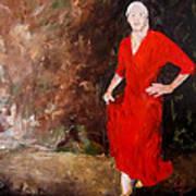 Red Ellegance Poster