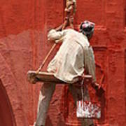Red Fort Painter Poster