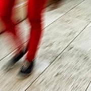 Red Hot Walking Poster
