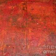 Red Jasper Stone Poster