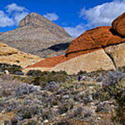 Red Rock Canyon Nevada Poster