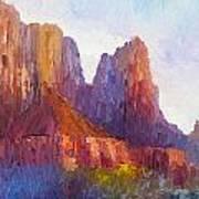 Red Rock Ridge Poster