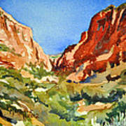 Red Rock Summer Poster