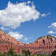 Red Rocks In Sedona Arizona Poster