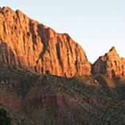 Red Rocks Of Zion Park Poster