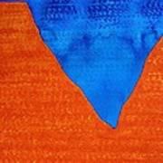 Red Rocks Original Painting Poster