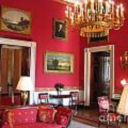 Red Room White House Poster