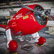 Red Speedster Poster