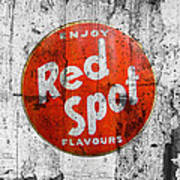 Red Spot Poster