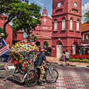 Red Square Malacca Poster