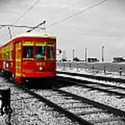 Red Trolley Poster