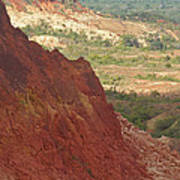 red Tsingy landscape Madagascar 2 Poster