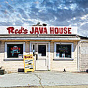 Red's Java House Poster by Tim Fleming