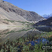Reflection In Borith Lake Poster