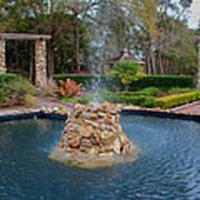 Reflection Pond At Ravine Gardens State Park Poster