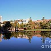 Reflection Pond Poster by Kathleen Struckle