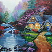 Reflections Cottage Poster