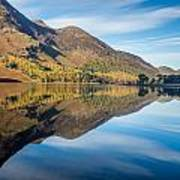 Reflections In Buttermere Uk Poster