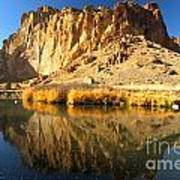 Reflections In The Crooked River Poster