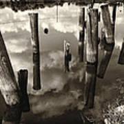 Reflections On The Bayou Villere La  Dsc05423 Poster